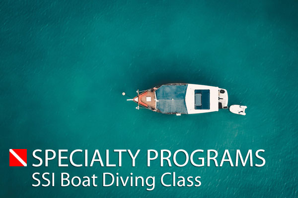 Boat Diving Class