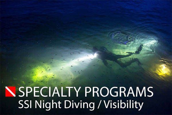 SSI Night Diving